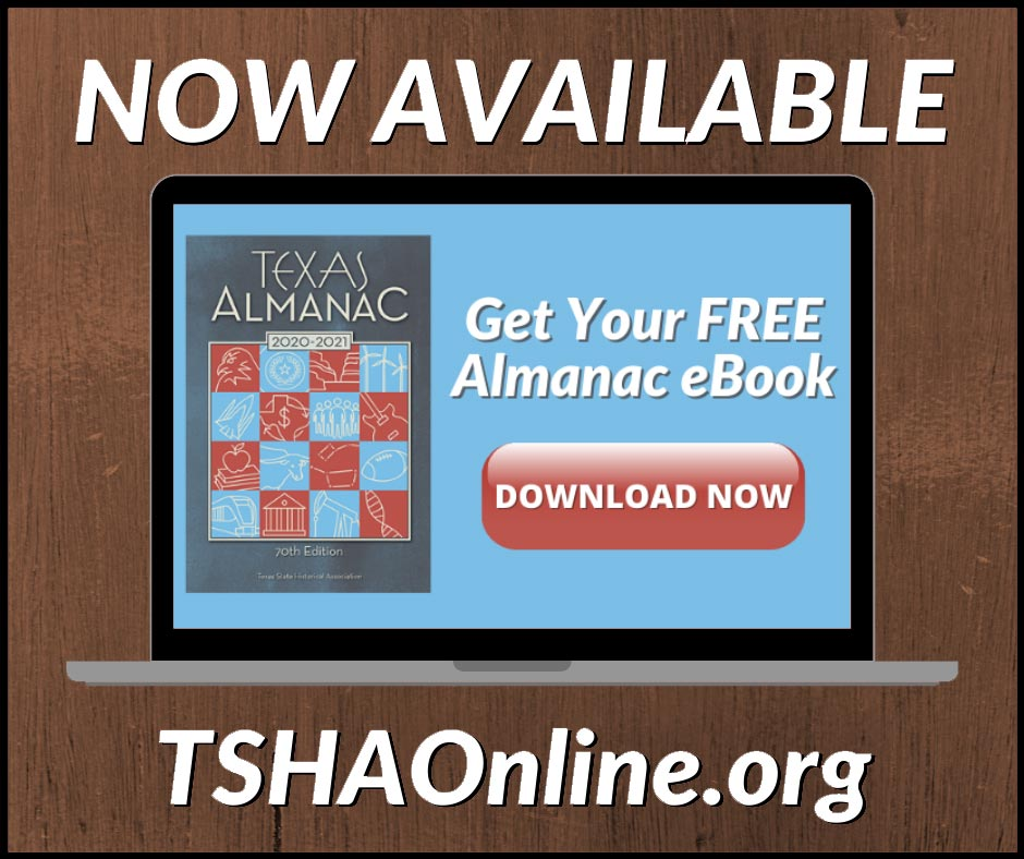 Get your free copy of our Texas Almanac eBook!
